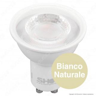 Bot Lighting Shot Lampadina LED GU10 7W Faretto Spotlight 60° Dimmerabile - mod. SLD630842D / SLD630843D