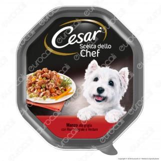 [EBAY] Cesar Scelta dello Chef Cibo per Cani con Manzo alla Griglia, Riso Integrale e Verdure - 1 Vaschetta da 150g - 1