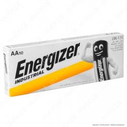 Energizer Industrial Alcaline Stilo AA - Box 10 Batterie