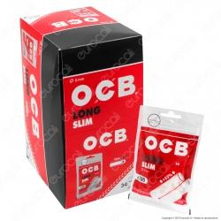 PROV-C00169005 - Ocb Slim Extra Lunghi 6mm - Box 34 Bustine da 100 Filtri