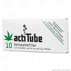 ActiTube Filtri Regular 8mm Carboni Attivi - Scatolina da 10 Filtri