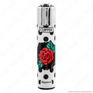Clipper Large Fantasia Skulls Tattoo 3 - Box da 48 Accendini