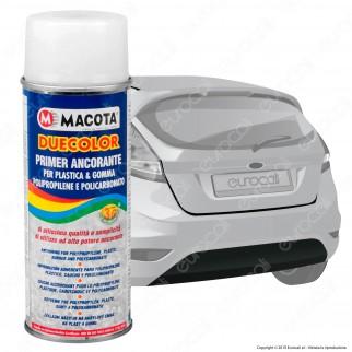 Macota Duecolor - Primer Spray Ancorante per Plastica, Gomma e Policarbonato