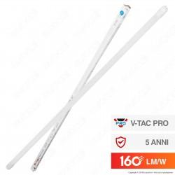 V-Tac VT-1612 SMD Tubo LED Nano Plastic T8 G13 12W Lampadina 120cm - SKU 6477 / 6478 / 6479