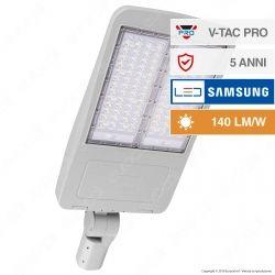 V-Tac PRO VT-202ST Lampada Stradale LED 200W Lampione SMD Chip Samsung Fascio Luminoso Type 3M - SKU 889 / 890