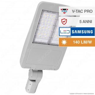 V-Tac PRO VT-103ST Lampada Stradale LED 100W Lampione SMD Chip Samsung Fascio Luminoso Type 3 - SKU 954