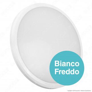 V-Tac PRO VT-12SS Plafoniera LED 12W Slim Forma Circolare Colore Bianco Chip Samsung - SKU 937 / 821 / 938