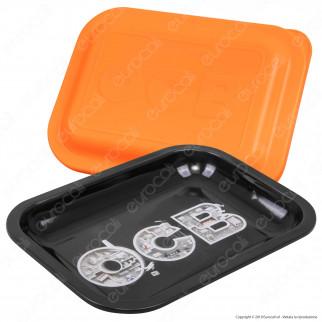 OCB Limited Edition Rolling Mini Tray Vassoio Di Rollaggio in Metallo