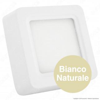V-Tac VT-1408SQ Pannello LED Quadrato 8W in Alluminio Bianco - SKU 4802 / 4801 / 4800