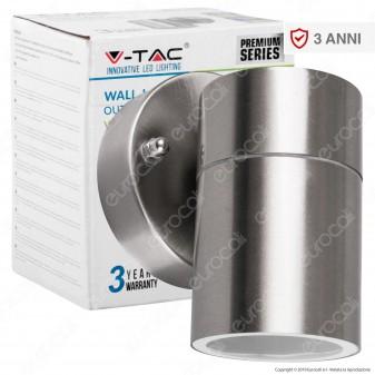 V-Tac VT-7621 Portalampada Wall Light da Muro per Lampadine GU10 - SKU 7501