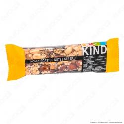 Be-Kind Snack con Frutta Secca Tostata al Miele e Sale Marino - 1 Barretta da 40g