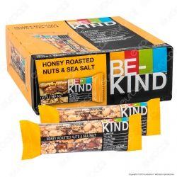 Be-Kind Snack con Frutta Secca Tostata al Miele e Sale Marino - Box da 12 Barretta da 40g