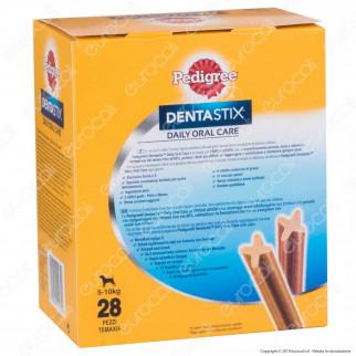 Pedigree Dentastix Small per l'igiene orale del cane - Confezione da 28 Stick