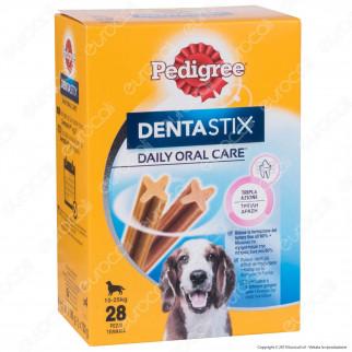 Pedigree Dentastix Medium per l'igiene orale del cane - Confezione da 28 Stick