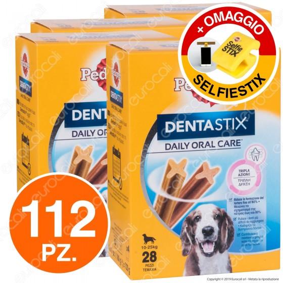 [EBAY] 112 Pedigree Dentastix Medium per l'igiene orale del cane - 4 Confezioni da 28 Stick