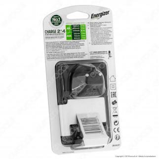 Energizer Accu Recharge Maxi Caricabatterie + 4 Pile Stilo AA 2000mAh