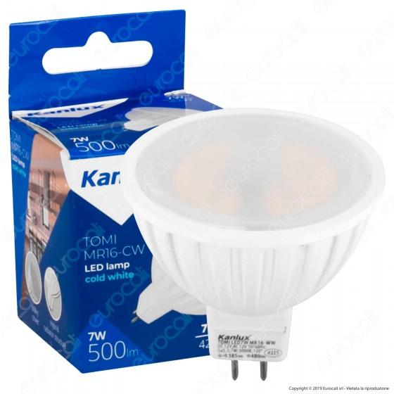 Kanlux Lampadina LED GX5,3 (MR16) 7W Faretto Spotlight - mod. 22706 / 22707