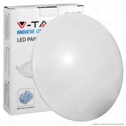 V-Tac VT-8031RD Plafoniera LED 12W Forma Circolare Colore Bianco - SKU 1414 / 5563 / 5562