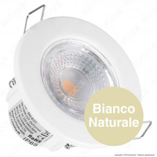 V-Tac PRO VT-885 Faretto LED da Incasso Rotondo 5W Dimmerabile IP65 - SKU 8177 / 8178 / 8181