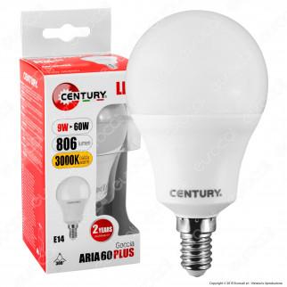 Century Aria 60 Plus Lampadina LED E14 9W Bulb A60 - mod. ARP-091430 / ARP-091464