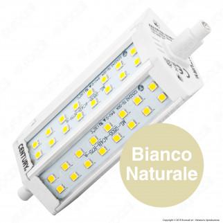 Century EXA Lampadina LED R7s L118 10W Bulb Prisma - mod. EXA-101230 / EXA-101240