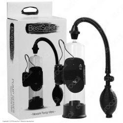 Toyz4Lovers BestSeller Vacuum Pump Vibro - Sviluppatore per il Pene a Pompa con Vibrazione