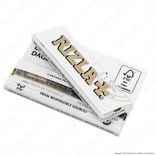 Cartine Rizla White Corte Bianche - Libretto
