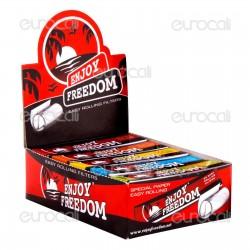 Enjoy Freedom Filtri in Carta - Scatola da 50 Blocchetti