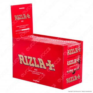 Cartine Rizla Red Corte Rosse - Scatola da 100 Libretti