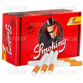 Smoking Tubetti con Filtro - Box da 100 Sigarette Vuote