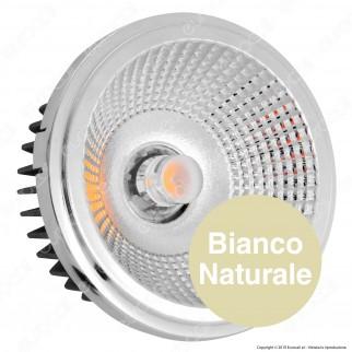 V-Tac T-1121 Lampadina LED AR111 20W Faretto da Incasso con 2 Riflettori 20-40° - SKU 2792 / 2793 / 2794