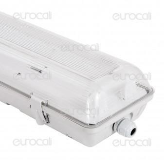 V-Tac VT-12011 Plafoniera Doppia Impermeabile per Tubi LED T8 da 120cm
