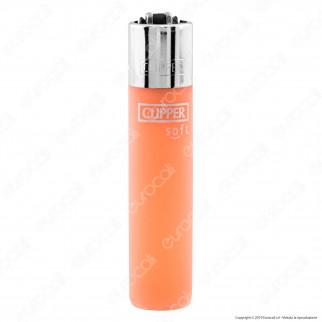 Clipper Large Fantasia Traslucido Soft Touch - 4 Accendini