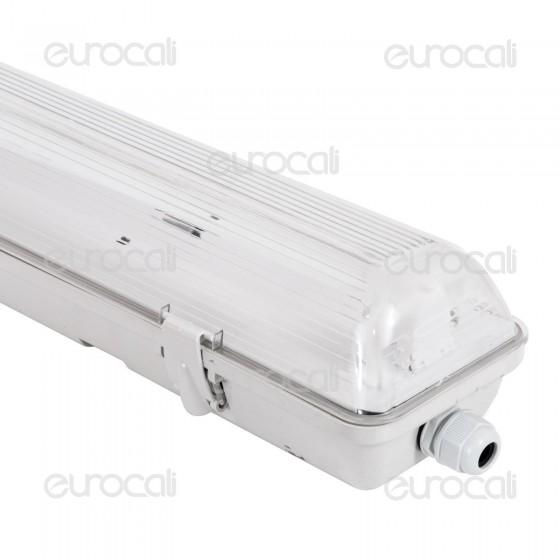 V-Tac VT-12010 Plafoniera Singola Impermeabile per Tubi LED T8 da 120cm