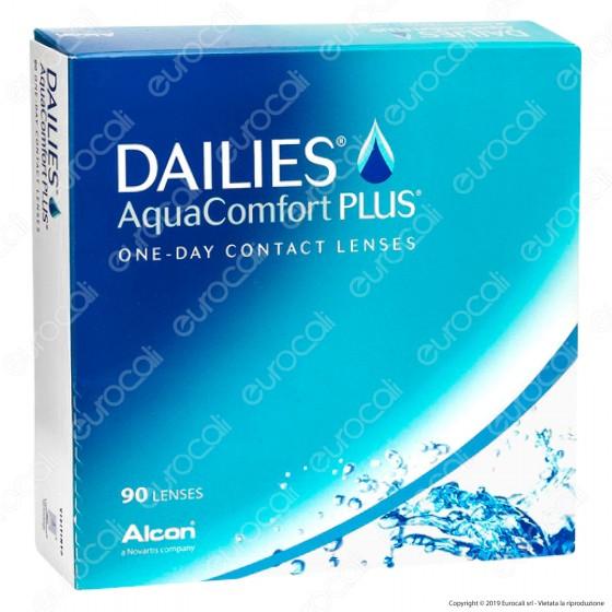 Ciba Vision Dailies Aqua Comfort Plus - 90 Lenti a Contatto Giornaliere