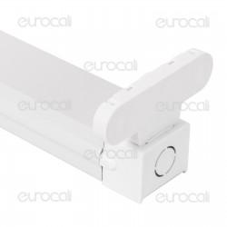 V-Tac VT-16011 Plafoniera Doppia per Tubi LED T8 da 60cm