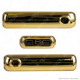 V-Tac VT-3522 Power Bank Portatile 10000 mAh 2 Uscite USB 2A - SKU 8907