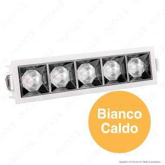 V-Tac PRO VT-2-21 Faretto LED SMD 20W da Incasso Rettangolare 38° CRI≥90 Chip Samsung - SKU 996 / 995 / 994