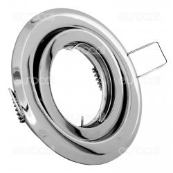 Kanlux ARGUS CT-2115-C Portafaretto Orientabile Rotondo da Incasso per Lampadine GU10 e GU5.3 - mod.305
