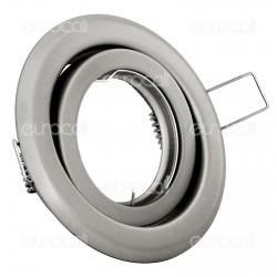 Kanlux ARGUS CT-2115-C/M Portafaretto Orientabile Rotondo da Incasso per Lampadine GU10 e GU5.3 - mod.331