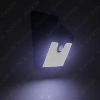 Kit 4 Intergross Sunny Light Lampada LED per Esterno IP44 con Pannello Solare e Sensore di Movimento