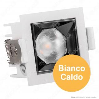 V-Tac PRO VT-2-04 Faretto LED SMD 4W da Incasso Quadrato 12° CRI≥90 Chip Samsung - SKU 972 / 971 / 970