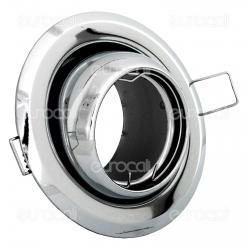Kanlux ARGUS CT-2117-C Portafaretto Orientabile Rotondo da Incasso per Lampadine GU10 e GU5.3 - mod.309