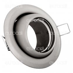 Kanlux ARGUS CT-2117-C/M Portafaretto Orientabile Rotondo da Incasso per Lampadine GU10 e GU5.3 - mod.337