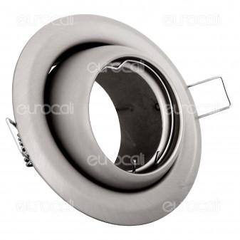 Kanlux ARGUS CT-2117-C/M Portafaretto Orientabile Rotondo da Incasso per Lampadine GU10 e GU5.3