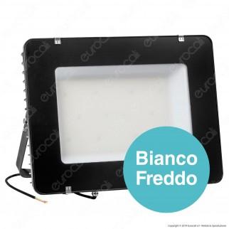 V-Tac PRO VT-505 Faro LED SMD 500W IP 65 High Lumens Ultrasottile Chip Samsung Colore Nero - SKU 966 / 967