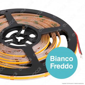 Silvanylux Striscia LED COB Monocolore 14 W/metro - Bobina da 5 metri - mod. GRNCOB12420/1 / GRNCOB12420/3 / GRNCOB12420/2