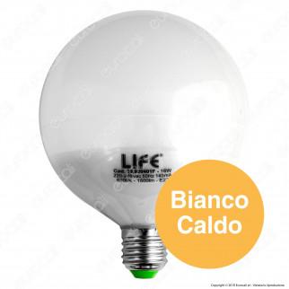 Life Serie GF Lampadina LED E27 16W Globo G120 - mod. 39.920401C / 39.920401N / 39.920401F