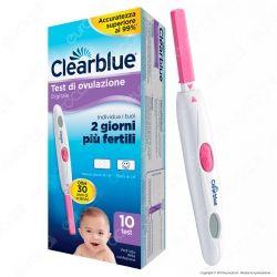 Clearblue Test di Ovulazione Digitale - Confezione con 10 Test