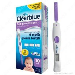 Clearblue Test di Ovulazione Digitale Avanzato - Confezione con 10 Test